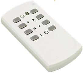 E-Motion Light 4-Kanal LED Funkdimmer 12/24 V