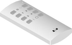 Radioregolatore di luminosità LED a 4 canali E-motion Light 12/24 V