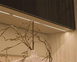 LED Einbauleuchten L&S Emotion Manila IV, auf Mass konfektioniert inkl. Endkappen, Zuleitung links 24 V