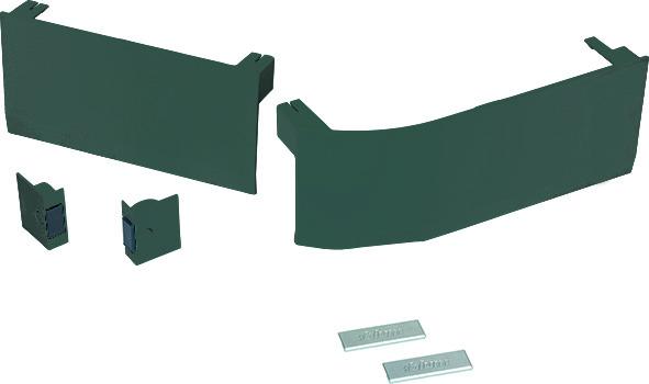 Set de caches BLUM abattant à armature élévatrice AVENTOS HK top, SERVO-DRIVE