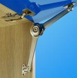 Compas pour abattants avec frein duo forte
