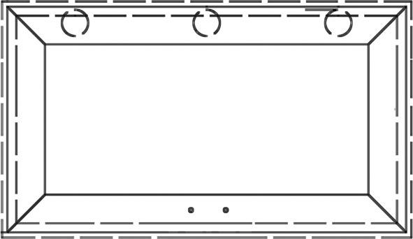 Costi di lavorazione e confezionamento maxi Braccio telescopico a molla 50.694.01 con telai in allu larghi a partire da 45 mm