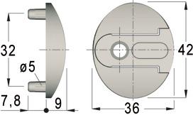 Pezzi di montaggio KLB/BKB-078