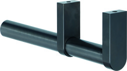 Tubi per armadi in acciaio inox nero