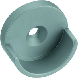 Supports du bout pour tubes d'armoire