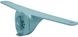 Support pour rayon en bois ou en verre pour système d'étagère LOGO