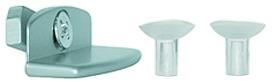 Klemmstück für Glastablare zum Regalsysem LOGO