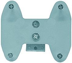 Support pour porte-cravates, porte-ceintures et universel SERVETTO pour système d'étagère LOGO