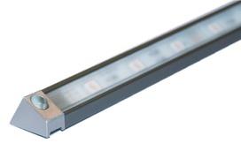 Profili per montaggio esterno DERBY II 19/13 mm con diaframmi