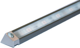 LED Anbauprofile L&S Derby II 19/13 mm mit Lichtblende