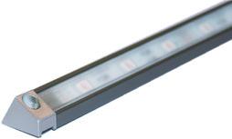 Profils en applique LED L&S Derby II 19/13 mm avec ecrans