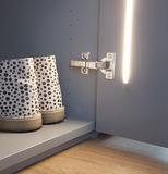 LED-Einbauleuchten-Grundset LUX GOOD für Drehtüren 230 V