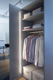 Jeu complémentaire de lampes LED encastrables LUX GOOD pour portes pivotantes 12 V