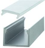 Profilo per montaggio esterno ROMA 22.6/15.6 mm con diaframmi
