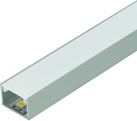 LED Anbauprofile ROM mit Lichtblende