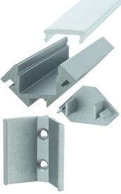 Profili per montaggio esterno LED ATENE con diaframmi