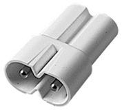 Adapter zu Leuchtstoff-Flachanbauleuchten 230 V