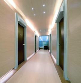 LED Anbauleuchten L&S Snite 230 V