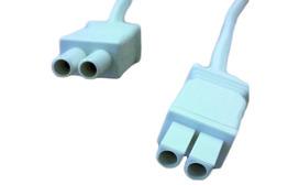 Anschluss-Verbindungsleitungen zu Leuchtstoff-Anbauleuchten Freedom 230 V