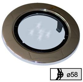 Anelli di copertura altezza 5.5 mm con vetro chiaro