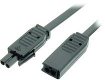 Câble de rallonge haute tension pour jeu de lampes halogènes encastrables 230 V