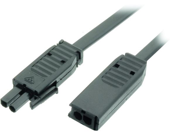 Cavo di prolunga per alta tensione per kit di lampade alogene per montaggio 230 V