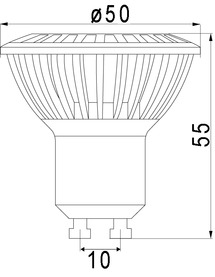 LED ampoules PHILIPS 230 V