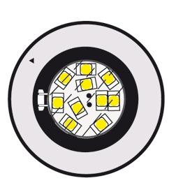 LED con circuito integrato L&S G4 12 V