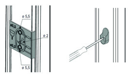 Schrankrohrlager Typ A Amari 200