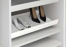 Rangement à chaussures coulissant