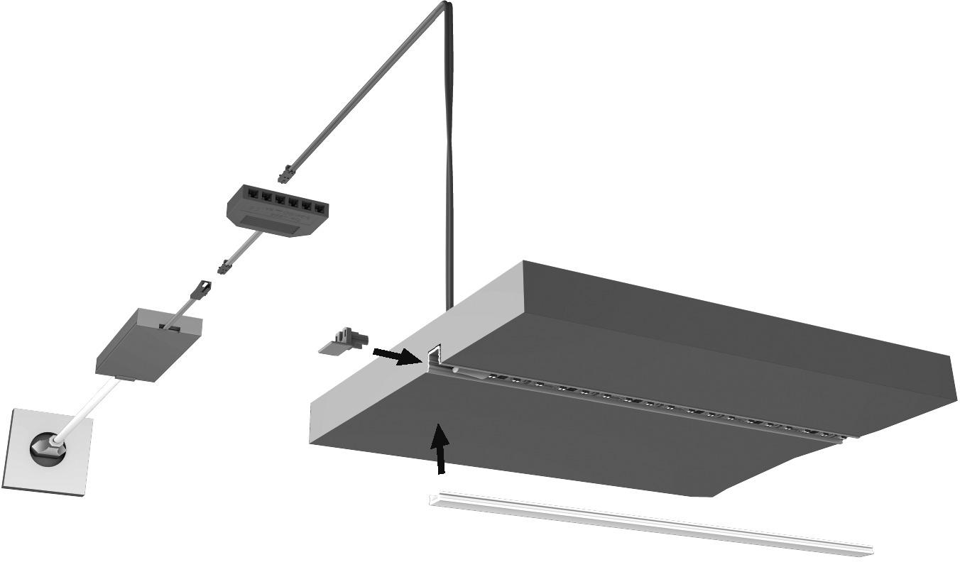 LED Ein-/Anbauprofile HALEMEIER ChannelLine i2 mit Lichtblende