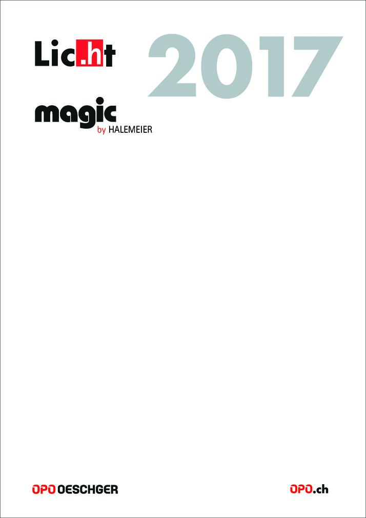 Katalog Licht magic by HALEMEIER 2017