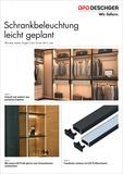Éclairage d'armoires facile à planifier