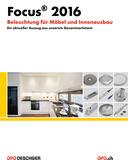 Focus 2016 - Eclairage pour meubles et aménagement intérieur