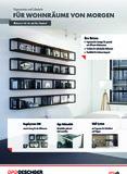 Broschüre für Wohnräume von Morgen
