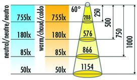 Lampes encastrables/appliques LED HALEMEIER EcoPower Flood 12 V