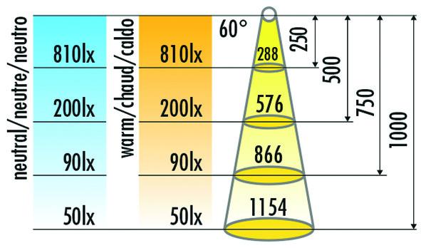 Jeu de 10 lampes encastrables/applique LED HALEMEIER Eco Spot 12 V