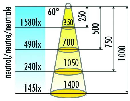 Lampes LED de saillantes HALEMEIER SlimLine 12 V