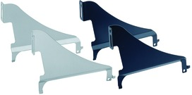 Supporti per frontale per telai classificatori per cartelle sospese e cassetti per pareti attrezzate
