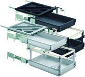 HETTICH Systema Top 2000 kit pour caisson avec coulisses à sortie totale et super extension