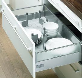 Organisation universelle pour tiroirs à casseroles HETTICH OrgaFlag