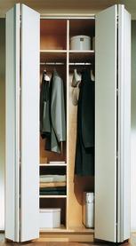 Garniture complète ferrements pour portes pliantes-coulissantes HETTICH Wing Line 770, Forslide