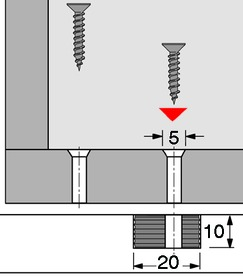 Dispositivo di regolazione del frontale
