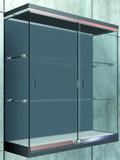 Ferrements pour portes coulissantes PAULI+SOHN modèle 2200, Inslide pour vitrines