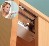 Unité d'amortissement pour ferrements portes coulissantes EKU