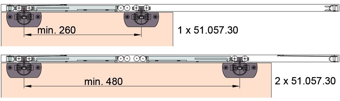 Unità per chiusura ammortizzata EKU-CLIPO 16+ REGAL C 16