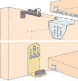 Ferrements pour portes coulissantes EKU-CLIPO 15 H, Forslide