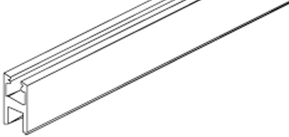 Profil de fixation du verre/profil de cadre pour verre EKU