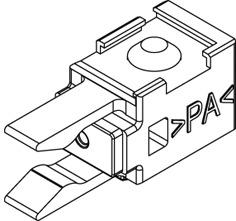 Ripulsore con molla di ritegno EKU-CLIPO 16