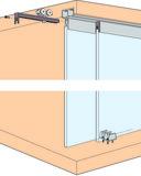 Ferrements pour portes coulissantes EKU-Clipo 36 GPK, Inslide